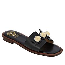 Vince Camuto Neima Leather Slide Sandal