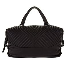 Vince Camuto Tave Quilted Leather Satchel