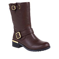 Vince Camuto Wendeema Leather Moto Boot