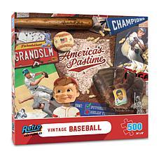 Vintage Baseball Retro Series Puzzle