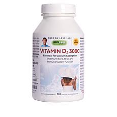 Vitamin D3-3000 - 720 Capsules