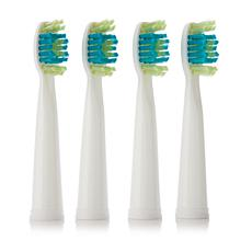 Voom Sonic Pro 3/Pro 5 Brush Head 4-pack