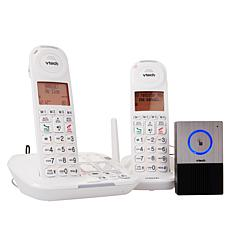 VTech CareLine DECT 6 Amplified Cordless Phone System w/Audio Doorbell