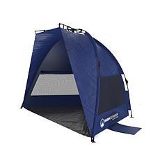 Wakeman Outdoors Pop Up Beach Tent/Sun Shelter - Blue