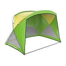 Wakeman Outdoors Water Resistant Beach Tent Sun Shelter UV Protection