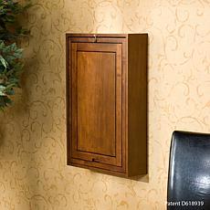Walnut Fold-Out Convertible Desk