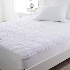 Warm & Cozy Heated Sherpa King Mattress Pad