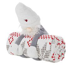 Warm & Cozy Huggable Friend and Throw Gift Set