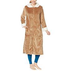 Warm & Cozy Zip-Front Robe
