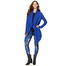 Warrior by Danica Patrick Thermal Knit Wrap Jacket