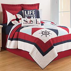 Waterborne Twin Quilt Set