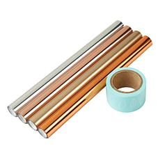 We R Memory Keepers Heat Active 4-pack Foil and Washi Roll Sets
