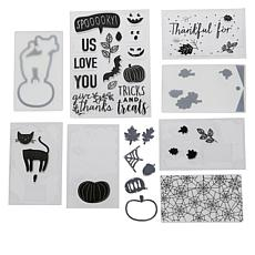 We R Memory Keepers Mini Evolution Stamp and Die Set - Fall