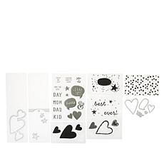 We R Memory Keepers Mini Sentiment Stamps and Dies