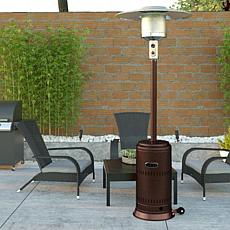 Well Traveled Living Hammered Bronze Finish Performance Patio Heater