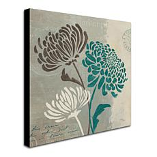 "Wellington Studio ""Chrysanthemums II"" Canvas Art"