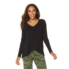 Wendy Williams Crossover Knit Tee
