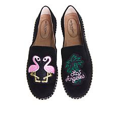 Wendy Williams Espadrille with Patches