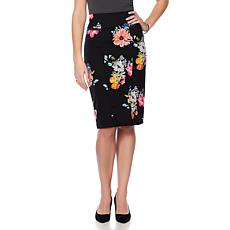 Wendy Williams Straight Ponte Pencil Skirt