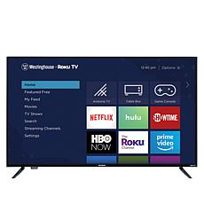 "Westinghouse 43"" Smart HDTV w/Built-In Roku, 2-Year Warranty & Voucher"