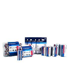 Westinghouse 60-pack Battery Variety Bundle