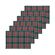 Weston Plaid Placemat 6-Pack