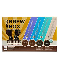 Westrock® Coffee Company Mixed Brew Box 100-count Single Pods