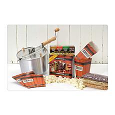 Whirley Pop Original Silver Dynamite Popcorn Gift Set