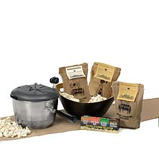 Whirley Pop Stainless Steel Sweet & Easy Popcorn Kit
