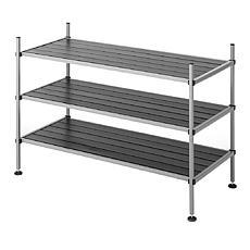 Whitmor 3-Tier Storage Rack Shelves