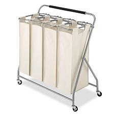 Whitmor Easy Lift Quad Laundry Sorter