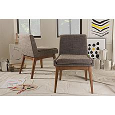 Wholesale Interiors Nexus Upholstered 2 Piece Dining Chair Set