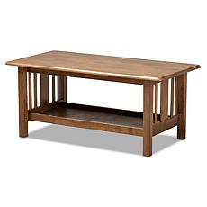 Wholesale Interiors Rylie Rectangular Wood Coffee Table