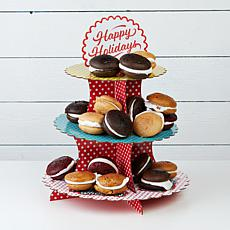 Wicked Whoopies 20-count Holiday Jr. Whoopie Pies with Cake Stand