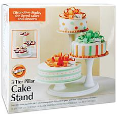 Wilton 3-Tier Pillar Cake Stand - Off-White