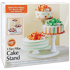 Wilton 3-Tier Pillar Cake Stand - Off-White