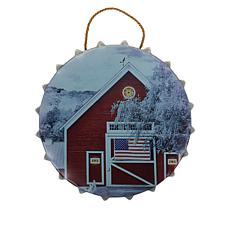 Wind and Weather Americana Metal Bottle Cap Metal Wall Art