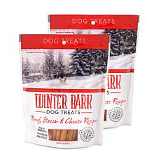 Winter Bark Beef, Bacon & Cheese Recipe Dog Treats 2 Pack 5 oz