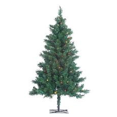 Winter Lane 4' Pre-Lit Colorado Spruce Tree - 150 Multicolor Lights