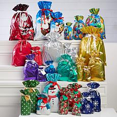 Winter Lane 60-piece All Occasion Gift Bags and Tags