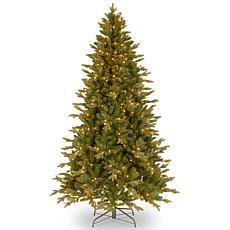 "Winter Lane 7-1/2' Avalon ""Feel-Real"" Spruce Tree w/Lights"
