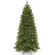 Winter Lane 7-1/2' Lehigh Valley Pine Tree w/Lights