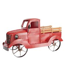 Winter Lane Antique Truck with 6 Decorative Magnets