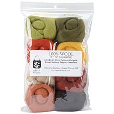 Wistyria Editions Set of 8 Ultra Fine Wool Yarn