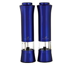 Wolfgang Puck 2-pack Adjustable Stainless Steel Spice Mills