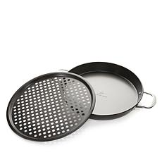 Wolfgang Puck 2-piece Nonstick Pizza Pan Set