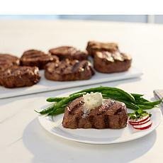 Wolfgang Puck (8) 5 oz. Filet Mignon Steaks & Garlic Parmesan Butter