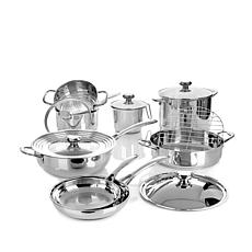 Wolfgang Puck Bistro Elite 14pc Stainless Cookware Set