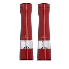 Wolfgang Puck Electric Spice Mill Duo with Adjustable Grinders