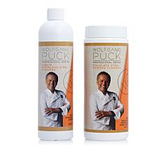 Wolfgang Puck Liquid and Powder Stainless Steel Cleaner